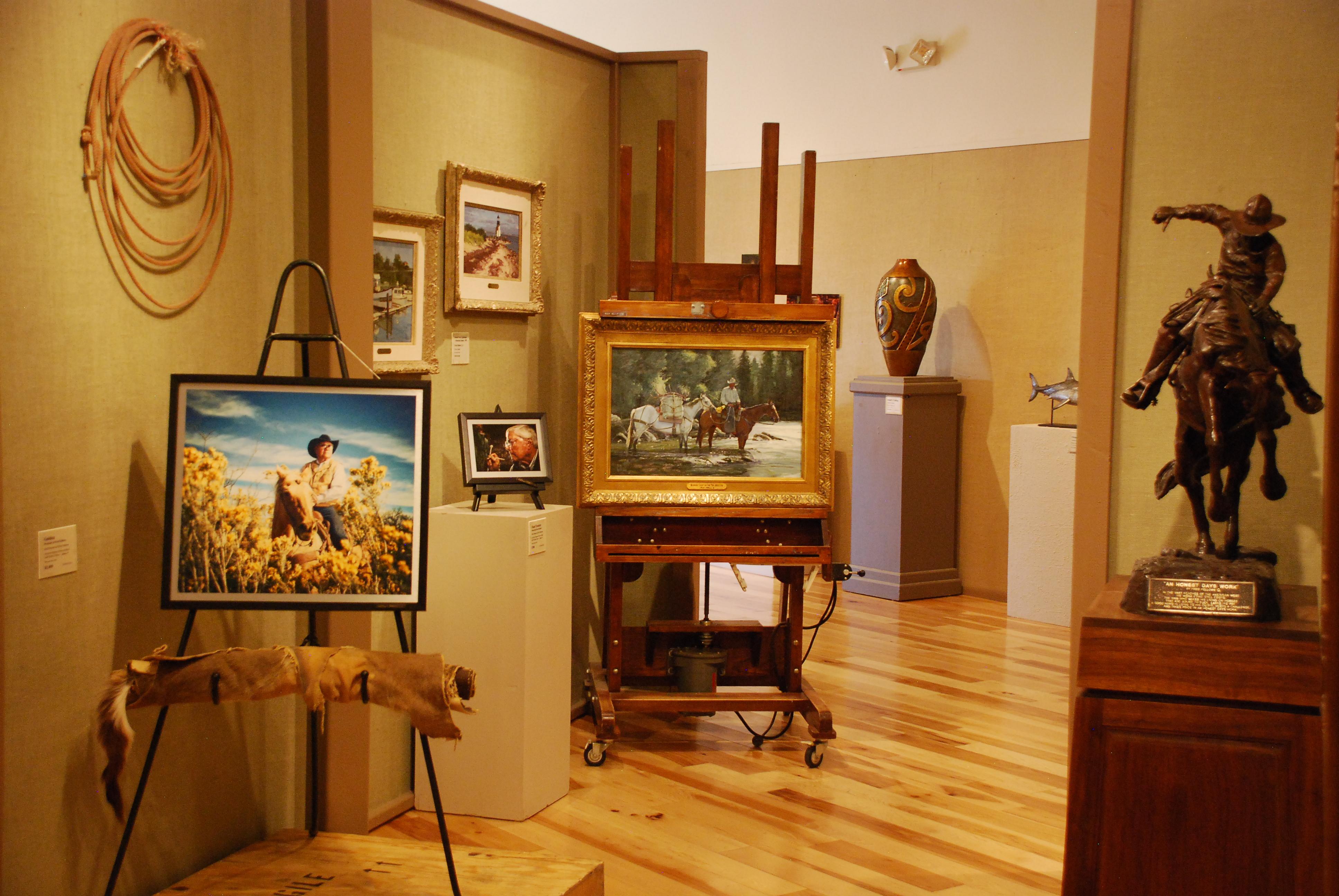 Phippen Museum interior.JPG